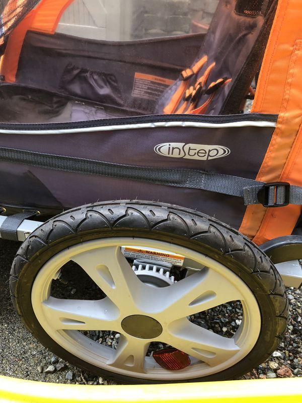 InStep Sierra Double Tow-Behind Bike Trailer Carrier