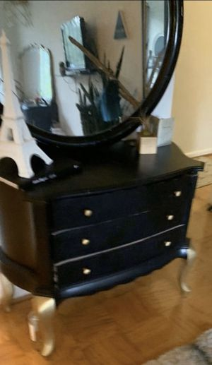 Black dresser for Sale in Chevy Chase, MD