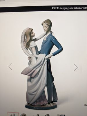 Lladro I love you truly couple porcelain statue, figurines for Sale in Campbell, CA
