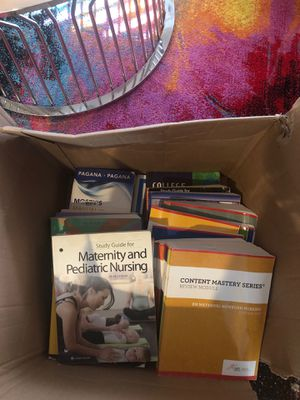 Nursing school and ATI NCLEX books for Sale in Silver Spring, MD