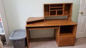 Wooden desk for Sale in Richland, WA