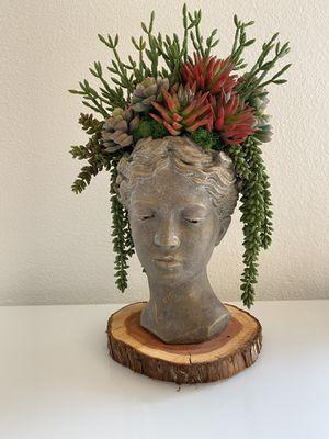 Succulent Goddess Custom Artificial Arrangement for Sale in Irvine, CA