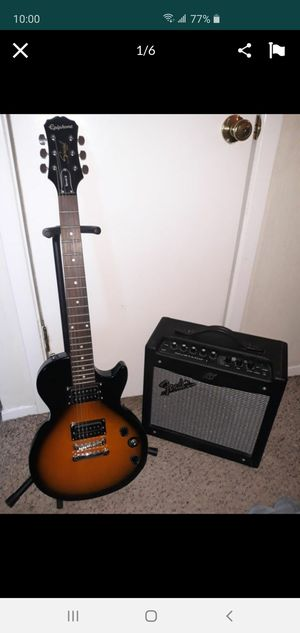 Great Electric Guitar with Amplifier for Sale in Dallas, TX