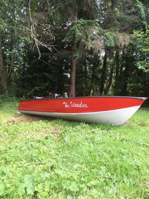Mini bass boat (12 ft aluminum) for Sale in Redmond, WA