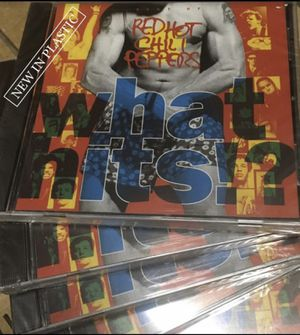 $5 - RED HOT CHILI PEPPERS - WHAT HITS!? - CD - NEW IN PLASTIC - HAVE MANY for Sale in Glendale, AZ