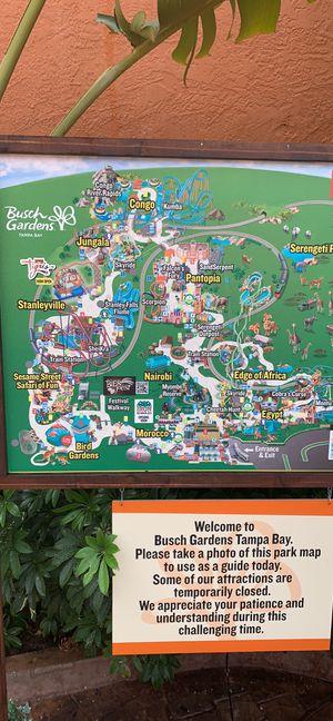 Busch gardens tickets 🎫 for Sale in Tarpon Springs, FL