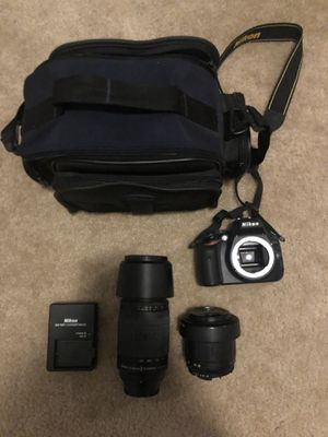 Nikon D5100 camera with kit for Sale in Cumming, GA