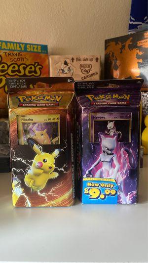 Pokemon XY Evolutions Decks! for Sale in Antioch, CA