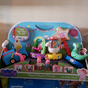 Peppa Pig magical parade train toy brand new! for Sale in Norco, CA