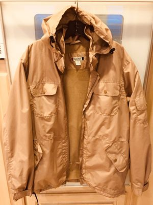 Clique Men's insulated jacket with removable hood Size Large for Sale in San Diego, CA