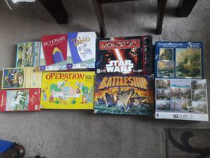 Family Board games and puzzles (all are complete) price is for all for Sale in Irvine, CA