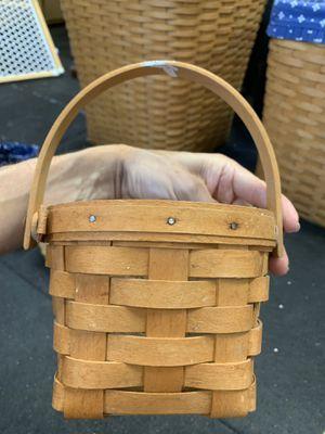 Longaberger measuring basket - very used for Sale in Orange, CA