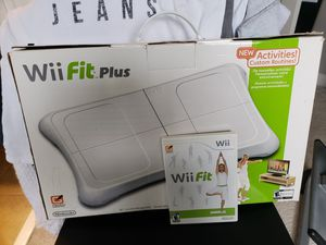 Wii fit Plus with exercise mat, carrying case, DVD for Sale in Durham, NC