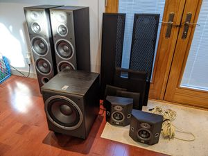 JBL Northridge E Series 5.1 Surround Speakers for Sale in Austin, TX