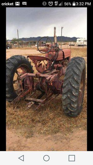 Farmall Antique Farm Tractor for Sale in Casa Grande, AZ