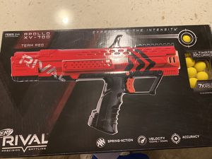 Nerf Rival team red for Sale in Palm Harbor, FL