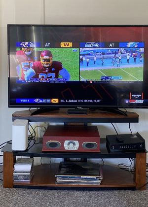 Wood/Glass TV Stand for Sale in Berkeley, CA