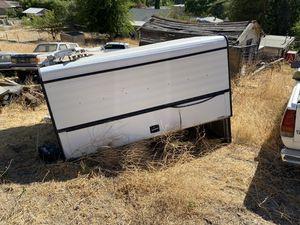 Aluminum Camper shell 1980-1997 f1/2/350 8ft bed for Sale in Santa Clarita, CA