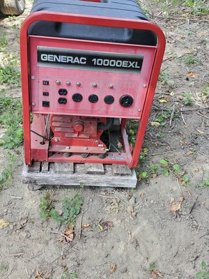 Generac 10,000 EXL for Sale in Snohomish, WA