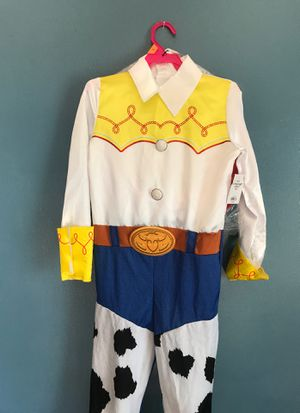 DISNEY TOY STORY4 JESSIE COSTUME GREAT FOR BIRTHDAY OR DRESS UP KIDS SIZE MEDIUM 7/8 for Sale in Fontana, CA