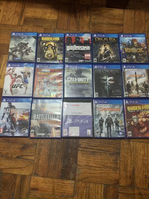 PS4 games lot for Sale in Queens, NY