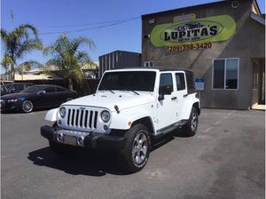 2018 Jeep Wrangler JK Unlimited for Sale in Atwater, CA