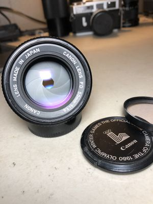 Canon 50mm f/1.4 FD Lens for Canon 35mm Film Cameras for Sale in Syracuse, NY