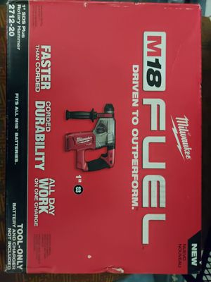 "Milwaukee M18 Fuel 1"" SDS Plus Rotary Hammer 2712-20 for Sale in Seattle, WA"