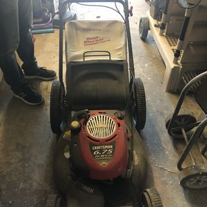 Craftsman Lawn mower In Excellent Condition for Sale in Orange, CA