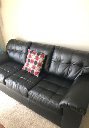 New leather couch and recliner for Sale in Lowell, MA