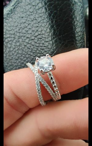 1 QT engagement ring and wedding band for Sale in DW GDNS, TX