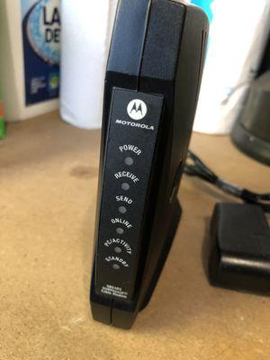 Motorola SB5101 Modem for Sale in Los Angeles, CA