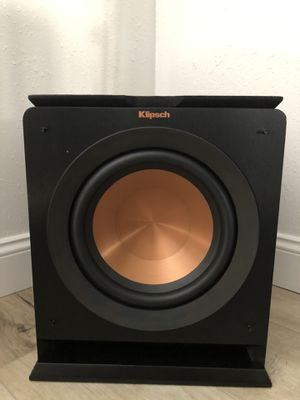 Klipsch R-110SW Subwoofer with FREE wireless adapter!! for Sale in San Diego, CA