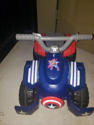 Captain America 4 wheeler for Sale in West Linn, OR