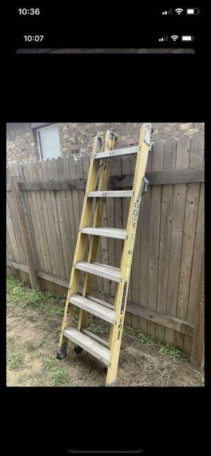 Extensión and step ladder for Sale in Hutto, TX