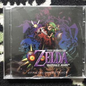 Sealed Legend of Zelda Majora's Mask Soundtrack CD for Sale in Tampa, FL