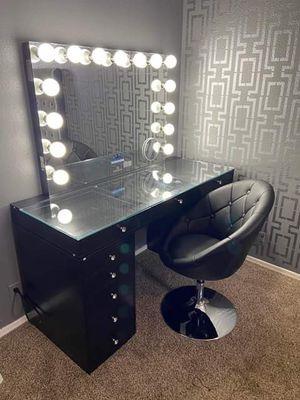 Vanity with Bluetooth mirror for Sale in Phoenix, AZ