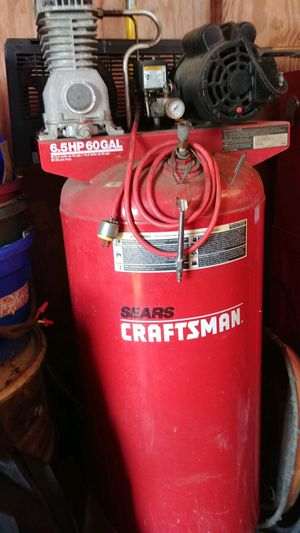 Sears craftsman air compressor for Sale in Inverness, FL