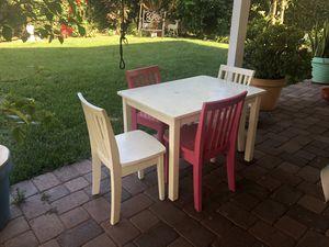 Carolina Play Table + Chairs - Pottery Barn Kids for Sale in Redondo Beach, CA