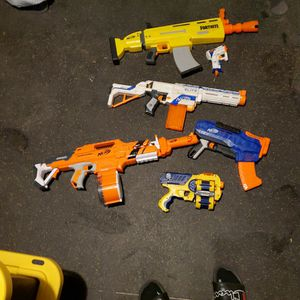 Bundle of Nerf Guns for Sale in Downey, CA