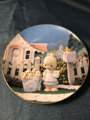 """Vintage Hamilton Collection """"God Loveth A Cheerful Giver"""" Plate for Sale in Puyallup, WA"""