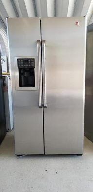 GE Profile stainless steel counter depth refrigerator for Sale in Vista, CA