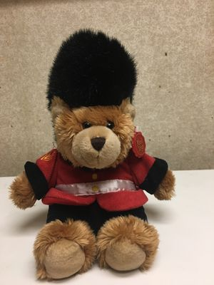 Small brown British stuffed bear for Sale in Orlando, FL