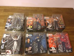 McFarlane toys Nascar action figures, mature series for Sale in Parma, OH
