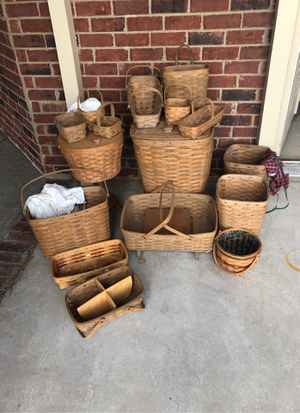 16 Longaberger Baskets for Sale in Brentwood, TN