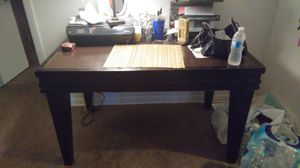 Solid wood desk and chair for Sale in Tampa, FL