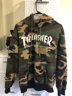 Camo Thrasher Hoodie XL Brand New Limited 2017🔥 for Sale in Santa Rosa, CA