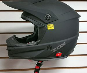 Dirt bike or motocross helmet (new) All Rider Gear matte black for Sale in San Diego, CA
