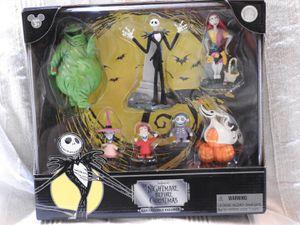 Nightmare Before Christmas Disney Parks Exclusive Jack Skellington 7 Pc. Figurine Playset for Sale in Chandler, AZ