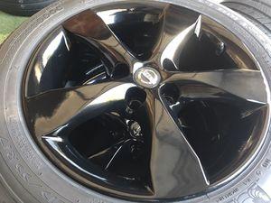 "17"" Nissan Altima Wheels N Tires for Sale in Arlington, TX"